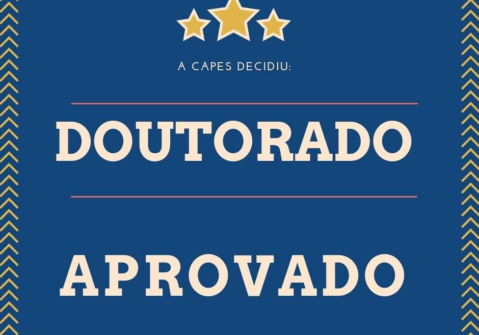 INSTITUTO PARCEIRO TEM NOVO DOUTORADO APROVADO PELA CAPES